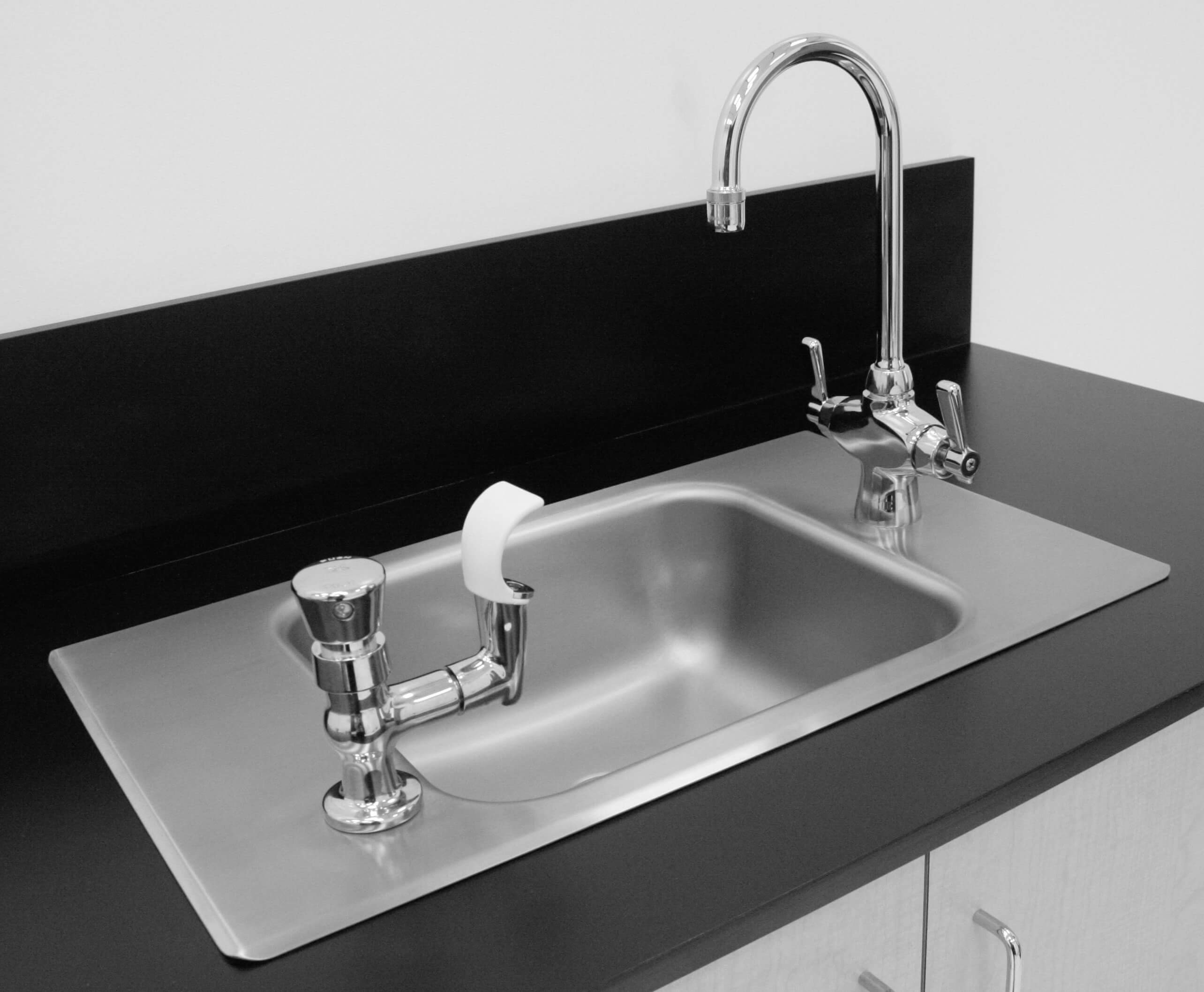 15 Quot Length Self Rimming Stainless Steel Classroom Sink