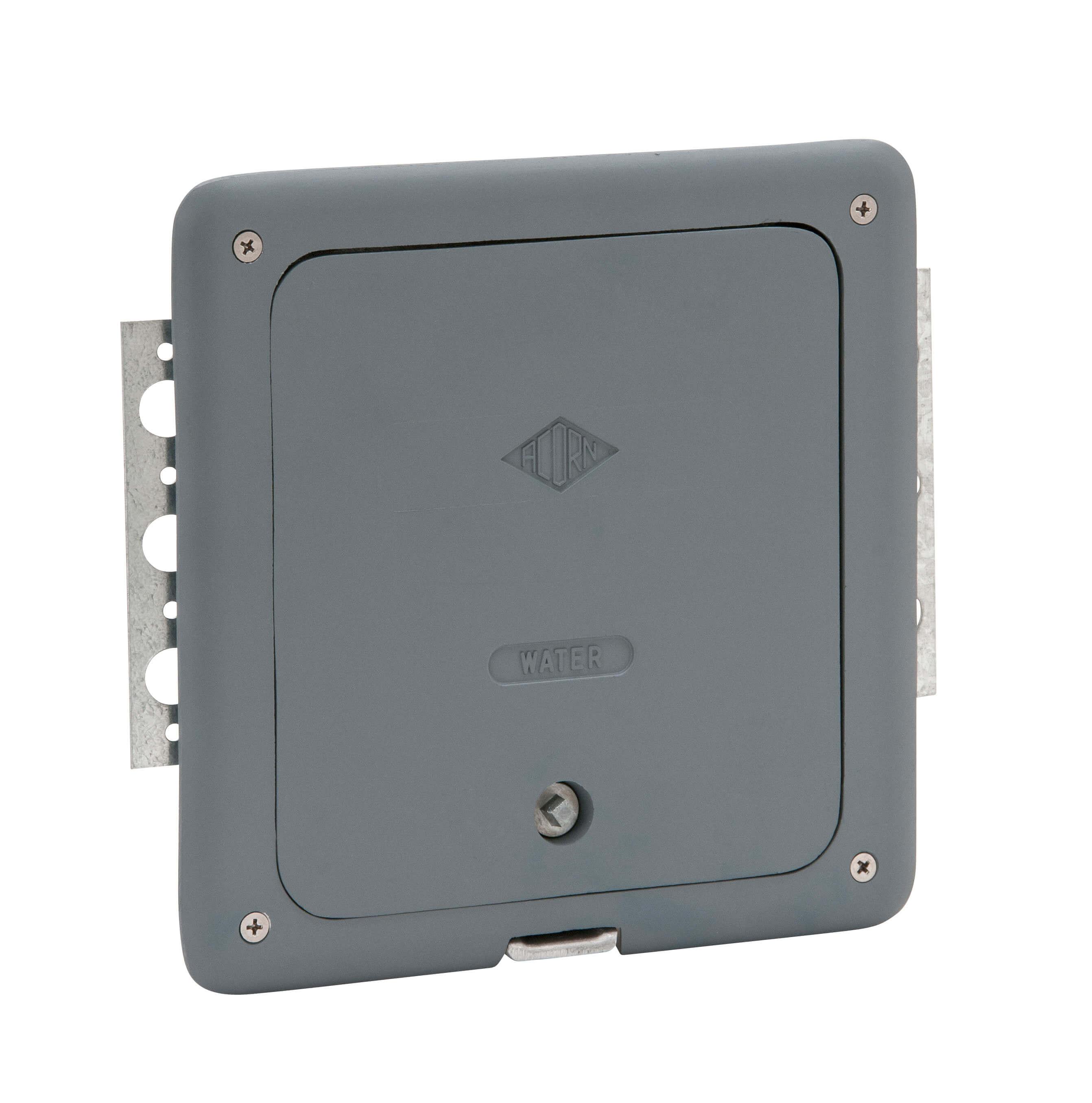 JPG Lumaloy Wall Hose Box Closed ...  sc 1 st  Acorn Engineering & With Door/Frame With Vacuum Breaker Lumaloy Recessed Hot u0026 Cold ...