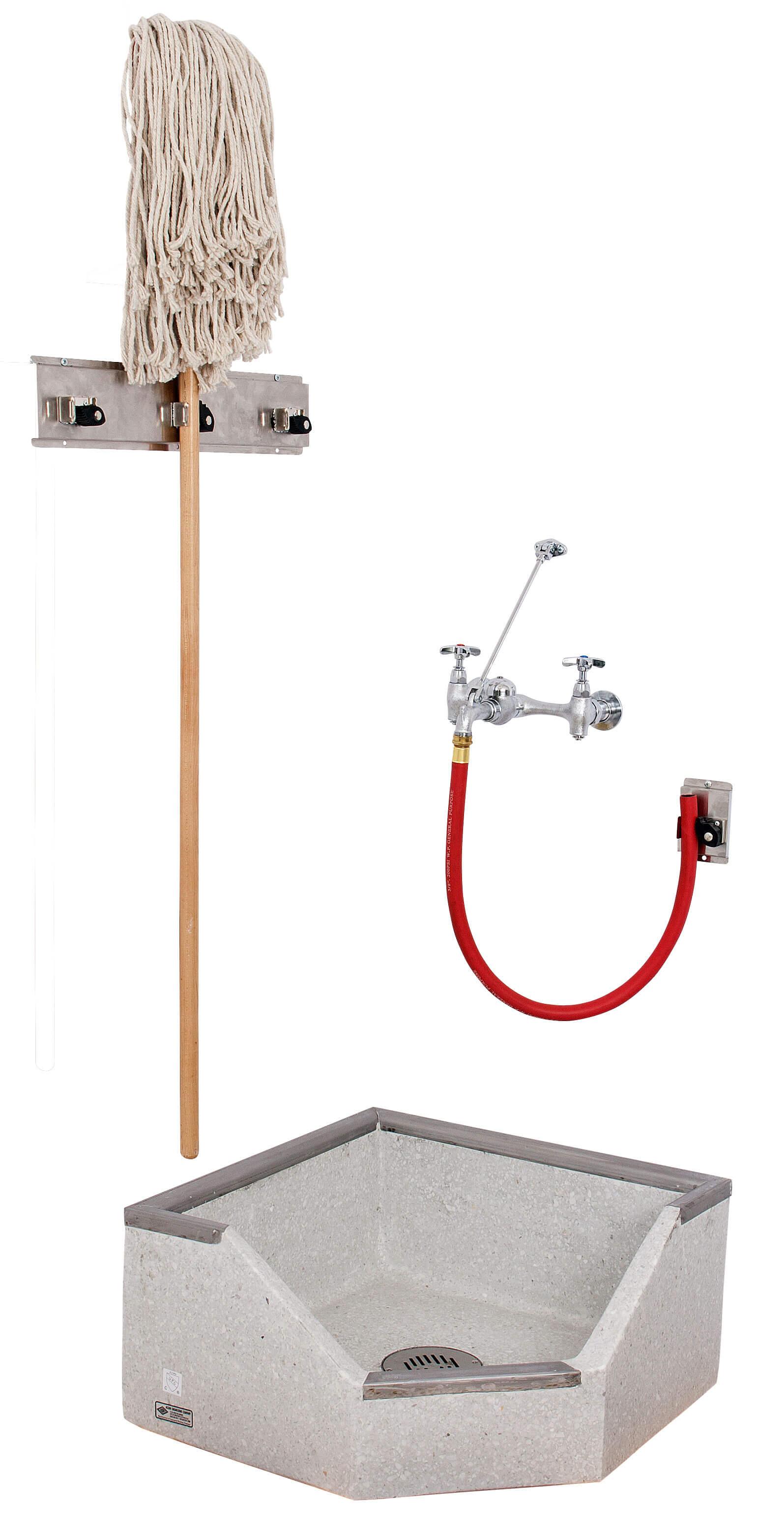 Corner Mop Sink : 24