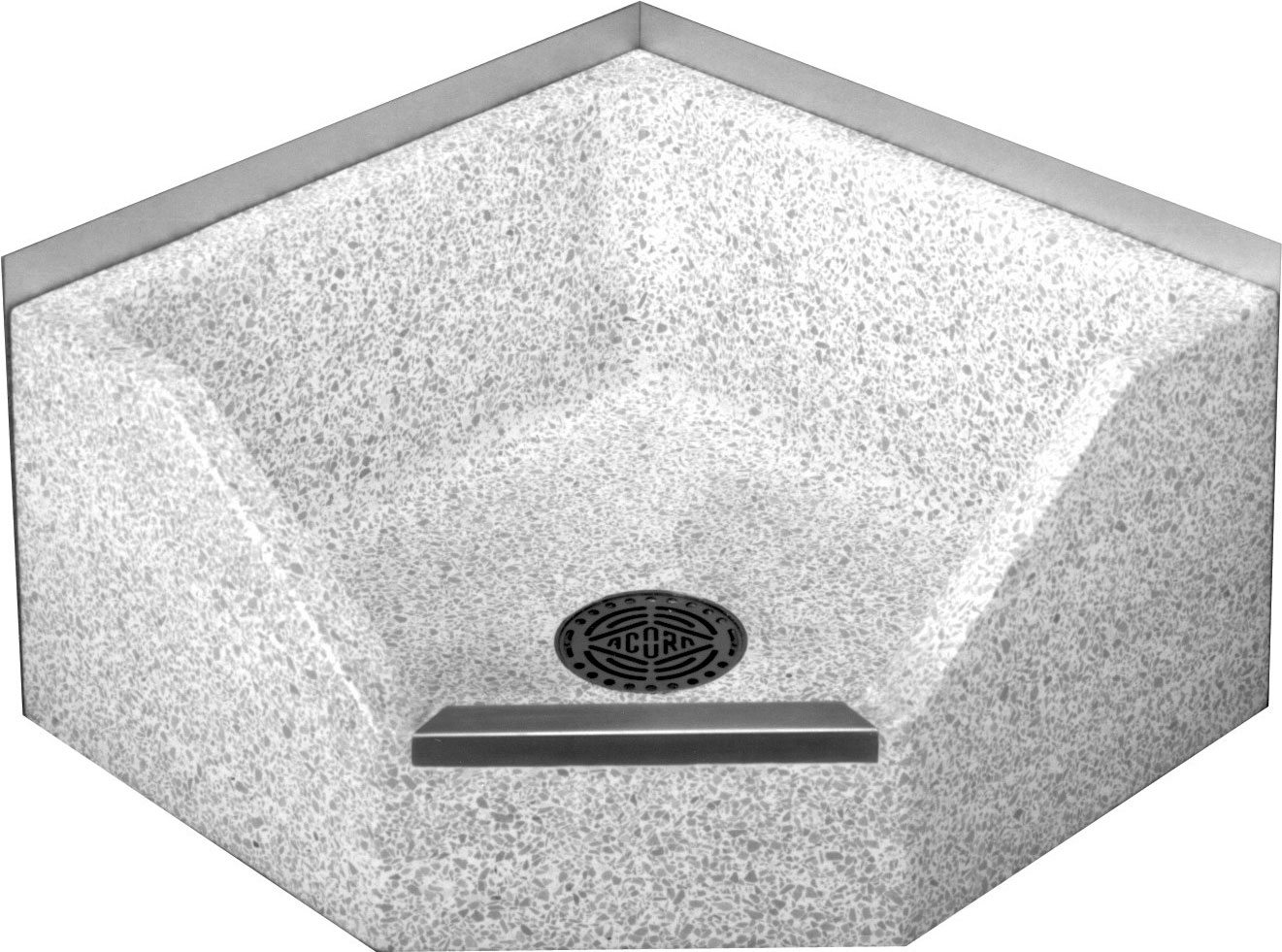 Is a floor mounted mop sink treated just like a floor drain? Is there ...