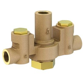 "1/2"" NPT Connection Brass Body Thermostatic Lavatory/Shower Tempering Valve"
