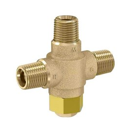 "1/2"" NPT Connection Brass Body Thermostatic Lavatory Tempering Valve"