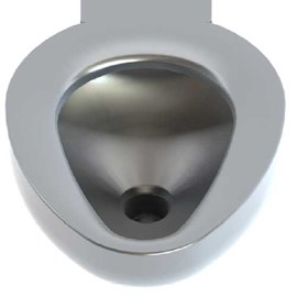 Option: Satin Finish in Toilet Bowl