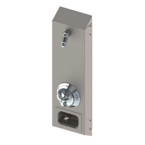 Surface Mount Stainless Apex Steel Shower Acorn Engineering