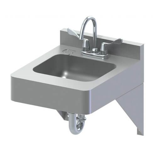 18 Quot X 22 Quot Ada Stainless Steel Lavatory Acorn Engineering