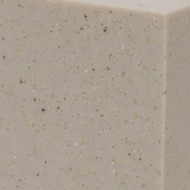 "Option: ""Parchment"" Corterra® (Cast) Solid Surface"