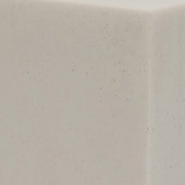 "Option: ""Cotton Tail"" Corterra® (Cast) Solid Surface"