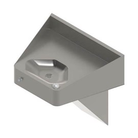 Ligature Resistant Front Access ADA Compliant Stainless Steel Security Drinking Fountain