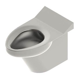 Ligature Resistant Blowout Jet Stainless Steel Toilet