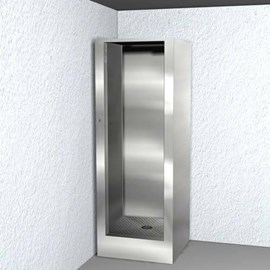 Ligature Resistant Stainless Steel Security Cabinet Showers