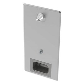 Ligature Resistant Flush-Mounted Pushbutton Stainless Steel Security Shower