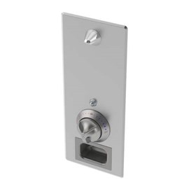 Ligature Resistant Flush-Mounted Stainless Steel Security Shower with T/P Mixing Valve