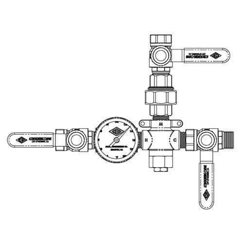TempFlow® Thermostatic Zone Valve - Maintain Hot Water Loop
