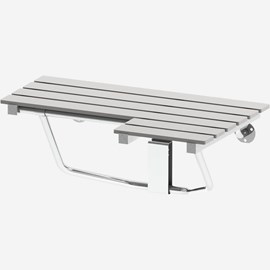 Right Hand Phenolic Folding Shower Seat