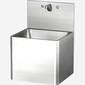 "21' x 19"" Stainless Steel Security Service Sink for Rear Mount (Chase) Application"