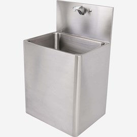 "24"" x 19"" Stainless Steel Security Service Sink for Rear Mount (Chase) Application"