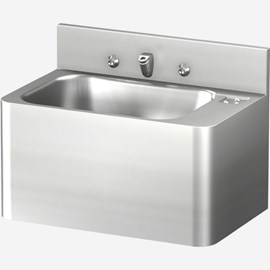 "20"" Security Stainless Steel Lavatory with Rectangular Bowl for Rear Mount (Chase) Application"