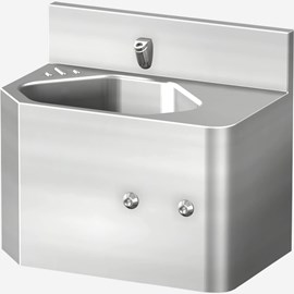 "18"" Front Access Security Stainless Steel Lavatory with Multi-Sided Bowl"