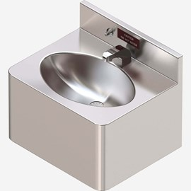 "18"" Security Café Lav with Hot Water Dispenser & Oval Bowl for Rear Mount (Chase) Application"