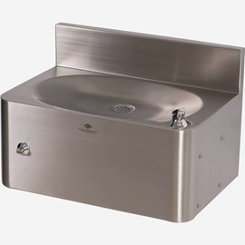 Front Access Wall Mount Security Drinking Fountain