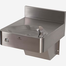 Front Access ADA Wall Mount Security Drinking Fountain