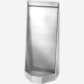 ADA Stainless Steel Security Stall Type Urinal for Rear Mount (Chase) Application