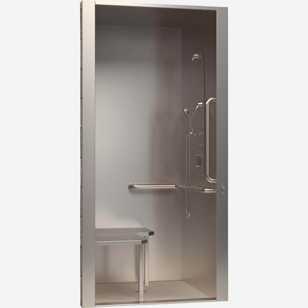 Share this page. 36 quot  x 36 quot  x 88 quot  Height  ADA Stainless Steel Security Cabinet