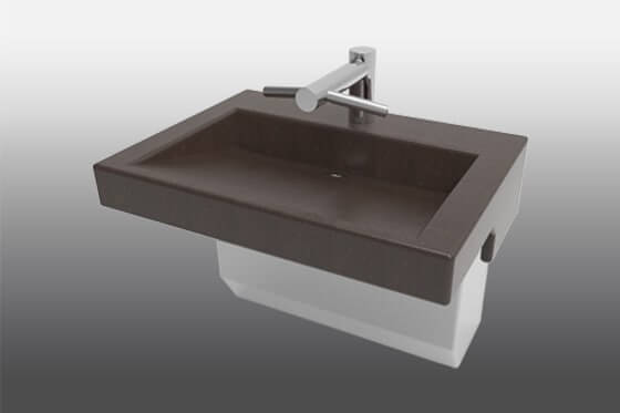 Meridian-Edge Modern Trough Trench Sink 3801 Dyson Faucet Tap