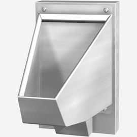 ADA Blowout Jet Stainless Steel Replacement Security Straddle Type Urinal for Front Mount