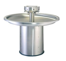 Eight Station, ADA, Circular Stainless Steel Wash Fountain
