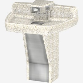 Terrazzo, ADA,Tri-Lav (Three Station) Wash Fountain
