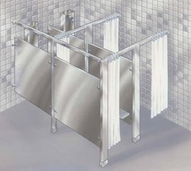 Modular Privacy Compartment for 450 Series Shower