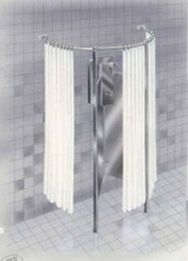 Circular Privacy Compartment for 470 Series Shower