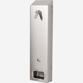 Economy Surface Mount Stainless Steel Eco-Rain Shower