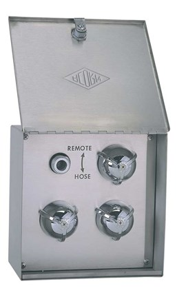No Temp Gauge, Surface Mount Dual Use Remote Supply Box