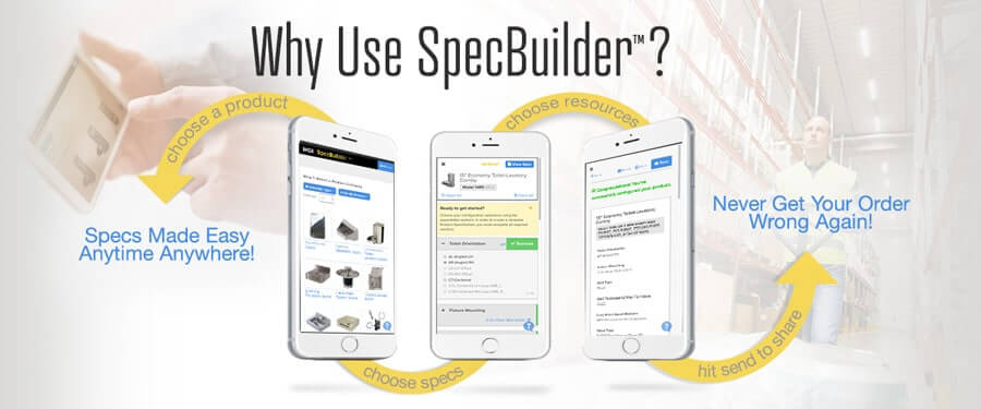 SpecBuilder Product Configuration Tool for Architects Engineers & Designers