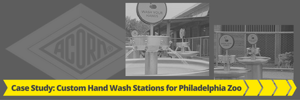Case Study Custom Hand Washing Stations for Philadelphia Zoo