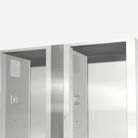 Option: Vertical Cabinet Closure - Center
