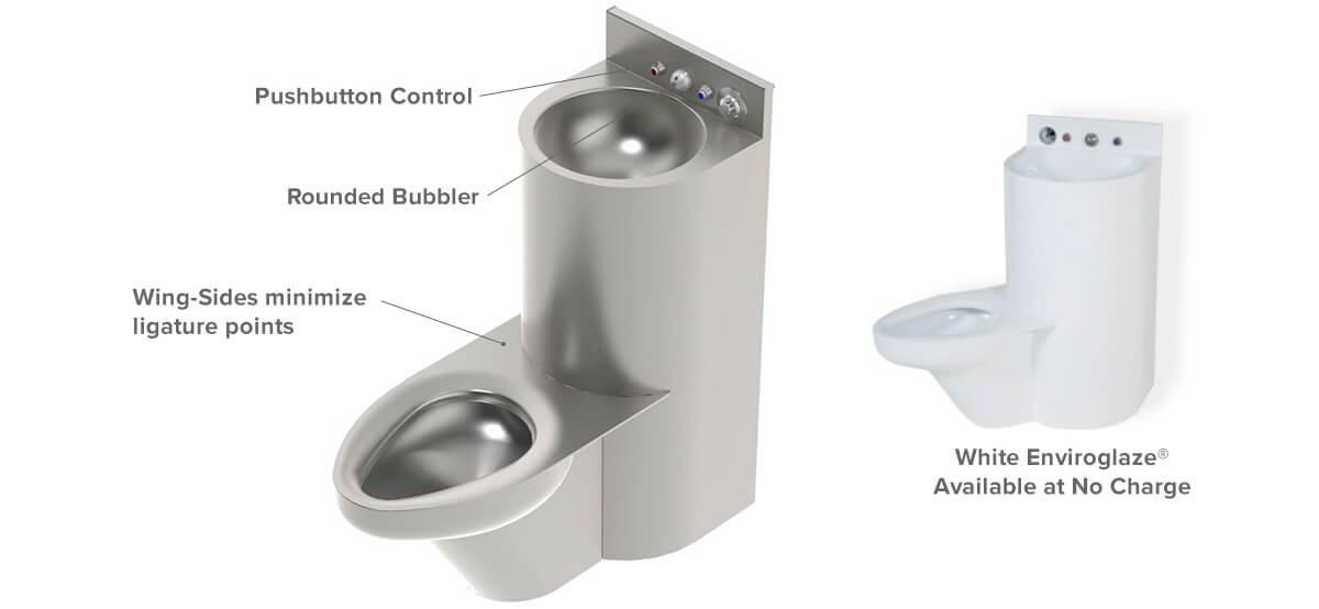 Ligature Resistant Plumbing Fixtures | Correctional Facility ...