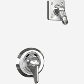 Option: Diverter Valve with Fixed Head in Lieu of Hand Shower