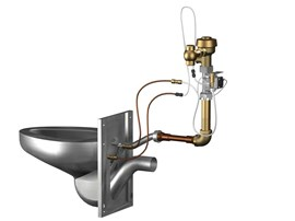 Option: Flood-Trol® Anti-Flood System for Manual Flush Valve