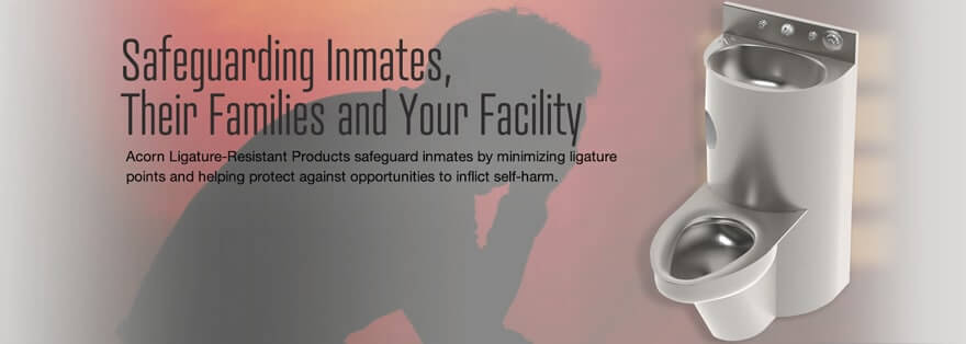 Ligature Resistant Fixtures for Correctional Facility Safety
