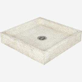 "36"" x 36"" x 6"" Height Reduce Height Terrazzo Mop Sink"