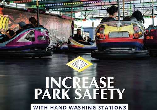 Theme Parks Hand Washing Flyer
