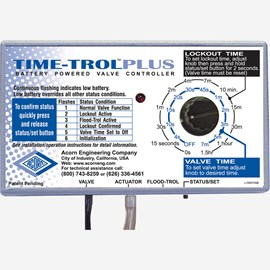Battery Powered Time-Trol® Plus Controller