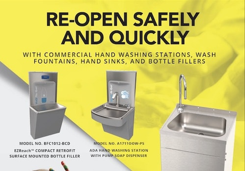 Stainless Steel Hand Washing Brochure